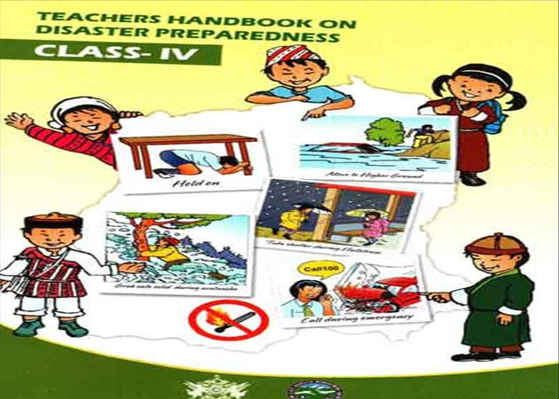 Teacher Handbook on Disaster Preparedness Class 4